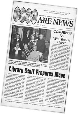 March 1975 A.R.E. News