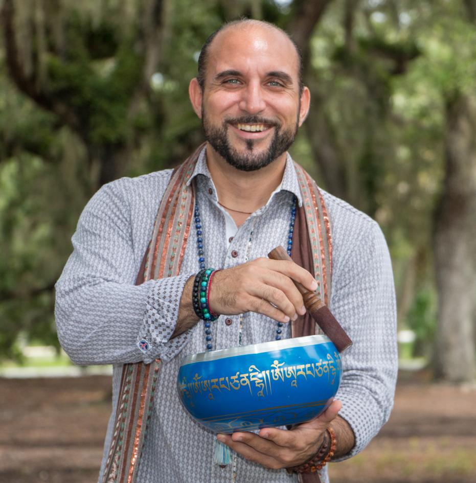 Anthony Profeta Meditation Teacher Promo Blue Sinigng Bowl.png