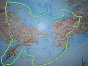 Beringia Map wikipedia