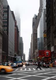 New York city street 2011