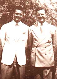 Edgar Evans and Hugh Lynn  Cayce