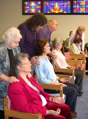 Gald Helpers Healing Group in action 09.07.2012
