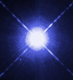 Sirius from Hubble web site