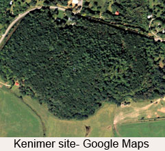 Kenimer Mounds from Goggle Maps 2012