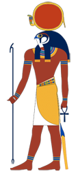 Re or Sun god Ra