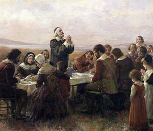 First Thanksgiving - Brownsombe