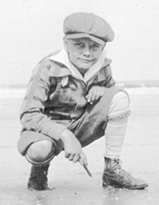 Young Edgar Evans Cayce - blog