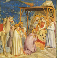 Giotto Adoration of the Magi- Wikipedia