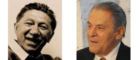 Abraham Maslow and Stanislov Grof