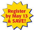 register and save May 13