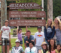 Seabeck sign with Group 2015