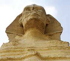 sphinx head AM