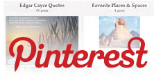 Pinterest - Edgar Cayce
