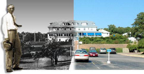 Hospital Building Then and Now