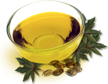 Castor Oil in bowl