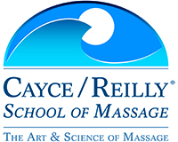 Cayce Reilly Massage School logo 200x 160